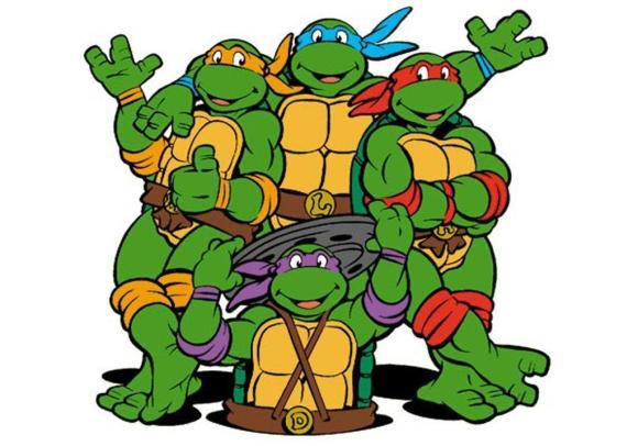 Dospívající mutant ninja želvy porno komiks