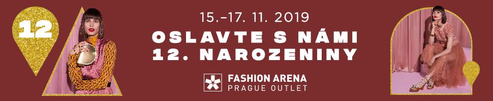 12. narozeniny Fashion Arena Prague Outlet