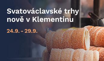 Svatováclavské trhy v Klementinu